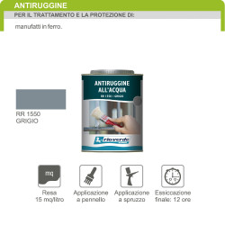 Renner RR1550 750ml antiruggine base acqua per ferro
