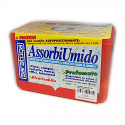 Assorbiumido in vaschetta con 1 ricarica da 450gr fragranza fruits