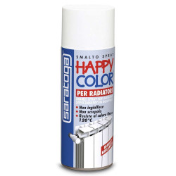 Bomboletta happy color per radiatori 400ml bianco brillante