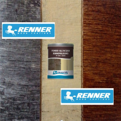 Renner RV 5000 750ml fondo all'acqua rinnovalegno color crema