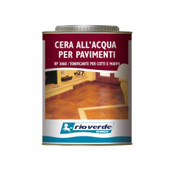 Renner RP 3060 750ml cera tonificante all'acqua per pavimenti in cotto e marmo