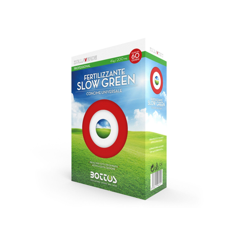 Slow green 4kg di concime bs 18 - 6 - 12